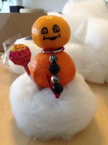 Het mandarijnenmannetje
